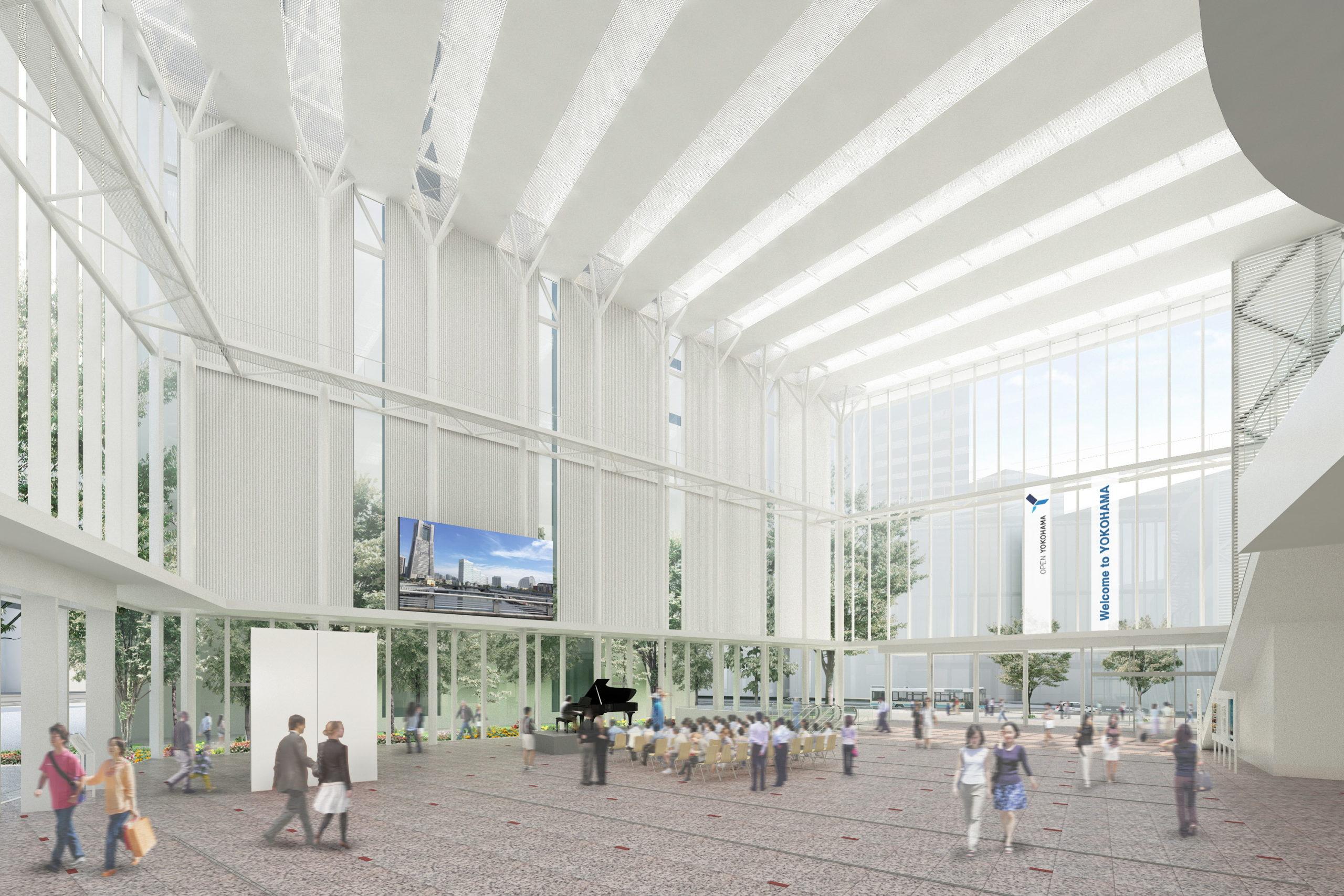 横浜市役所アトリウム 2020年6月29日(月)OPEN!